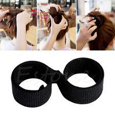 1pc Hair Styling Donut Former Foam French Twist Magic DIY Tool Bun Maker Fashion