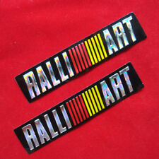 RALLIART   3D EFFECT FOIL DECALS  UK  ,FREEPOST