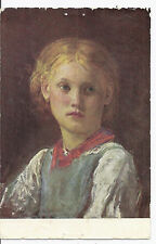 1924 Switzerland Semi Postal Postcard w/ B31 - Albert Anker Painting, For Youth*