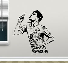 Neymar Wall Decal Barcelona Football Vinyl Sticker Soccer Art Decor Mural 17nnn