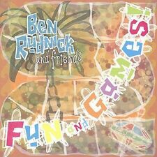 FREE US SHIP. on ANY 2 CDs! NEW CD Ben Rudnick and Friends: Fun and Games