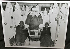 Bizarre Cristmas Klan Santa Claus Photo glossy reprint Vintage Real Photo