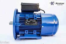 Electric motor single-phase 240v 0.75kw 1hp 1410rpm B35