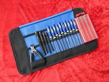 Craft Model Tool Kit Suit Airfix & Warhammer Tamiya Modellers Roll Up Case SET 3