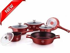 Royalty Line RL-MS1010D Diamond Coated 10pc Non-Stick Cookware Set - NEW ARRIVAL