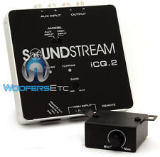 SOUNDSTREAM ICQ.2 OEM 2-CHANNEL INTEGRATION MODULE LINE HIGH IN OUTPUT CONVERTER