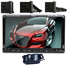 "Camera+Samsung Head 2 Din 7""Car Stereo Radio CD DVD Player iPod BT Ipod TV MP3"