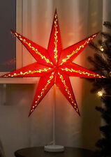 Standing Gloss Red star 2016  light lamp 70cm