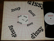 DIZZY - Dizzy LP UK 1983 Private Press 70s ROCK/POP/SOUL ex-PYRANHA PROG