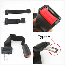 "Click-In Car Seatbelt Buckle Extender 15""-19"" Type A, Adjustable For Auto Safety"