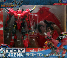 Transformers Go! G23 Guren Dragotron Ultimate Predaking Voyager Class Takara