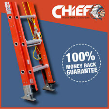 CHIEF Fibreglass Extension Ladder 4520mm-7820mm
