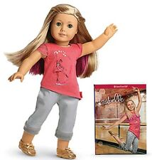 "AMERICAN GIRL Isabelle Doll & Book 18"" New Doll of the Year 2014 New in Box"