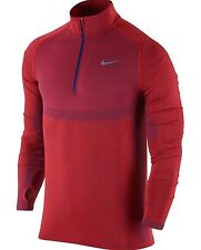 Nike Dri-Fit Knit Half-Zip Men's Running Shirt (M) 717748 406