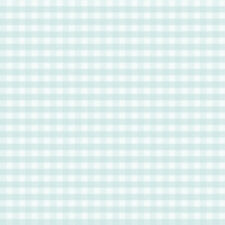 Petit Fleur Duck Egg Gingham Wallpaper Traditional Check Design 262246