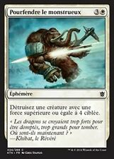 MTG Magic KTK - (4x) Smite the Monstrous/Pourfendre le monstrueux, French/VF