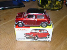 Dinky 183 Morris Mini Minor automatic Boxed Vintage Original Diecast Old Meccano