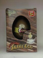 MAGIC Serpente da cova uova crescente nell' acqua bambini giocattoli regalo bambini Giocattolo, Nuovo
