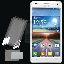 3x CLEAR PET Screen Protector for LG Optimus 4X HD P880