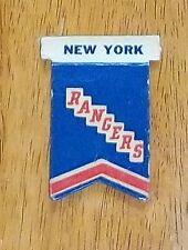 Eagle 1950's New York Rangers Pennant   player table top hockey 2