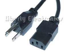 New Computer PC Monitor Power Cord Cable