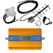 NEW 2017 LCD display 3G CDMA 850Mhz phone signal booster repeater with YAGI kit