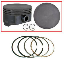 GM GMC CHEVY VORTEC 5.3L 1999-2009 COATED FLAT TOP PISTONS & PREMIUM RINGS SET