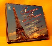 CD Reader's Digest Souvenirs De France 1003 TR (5XCD) 2000 Compilation Chanson