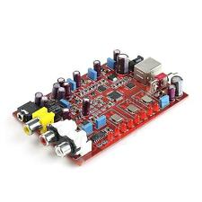 New 384KHZ/32bit Original XMOS+ PCM5102 + TDA1308 USB Decoder Board USB DAC