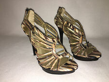 *Beautiful* New Carlos Santana 'Flutter'  Marbelized Strappy Sandals - 7