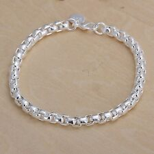 New Fashion 925 sterling silver plated CHAIN jewelry Classic trend bracelet H157