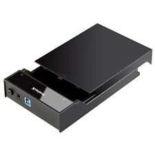 "Inateck USB 3.0 2.5& 3.5"" SDD SATA External Hard Drives Lay-Flat Docking Station"
