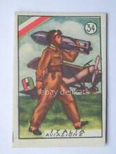 Vecchia figurina 1940 eserciti militare  34 Italia aviazione aeronautica