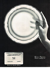 PUBLICITE ADVERTISING 094  1966  BERNARDAUD PORCELAINES service  LOUIS XV