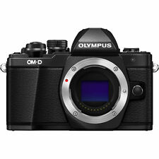 Olympus OM-D E-M10 Mark II Mirrorless Digital Camera Body (Black) Olympus Dealer