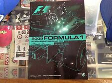 2009 Official Malaysian F1 Programme signed by NELSON PIQUET on front cover