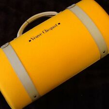Veuve Clicquot Traveler Bag Wine And Glass Transporter Carrier with 2 Flutes