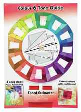 Sew Easy Quilters Colour Wheel with Tonal Estimator Pick Colours With Confidence