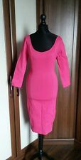 Collectif London Pink Tempest Pencil dress 1950s retro  pin up size 12 BNWT