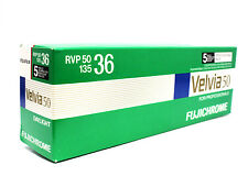 10 ROLLS OF FUJI VELVIA 50 RVP50 135-36 COLOR REVERSAL FILM RVP 50 EXP: 12/2016