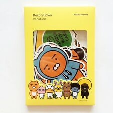 [Rare Item] KAKAO Friends Store Official Character Deco Sticker (Vacation)
