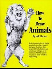 NEW - How to Draw Animals (Perigee) by Hamm, Jack