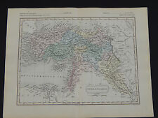 Antique Maps, Samuel Butler c.1863 #16 Turkey in Asia