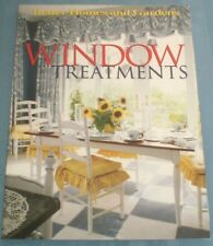 Window Treatments by Better Homes and Gardens Editors (1997, Paperback)