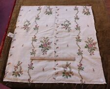 "Antique French Silk Brocade Fabric c1890-1910~26""L X 27""W~HomeDec"