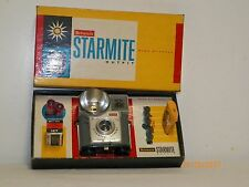 Vtg Kodak Brownie Starmite camera outfit Complete, that uses 127 film