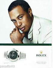 PUBLICITE ADVERTISING 106  2012  Rolex  montre Oyster perpetual day-date II plat