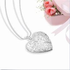 Saint-Valentin Collier argent Plaqué Pendentif Amour Coeur Amoureux Charme Cadea