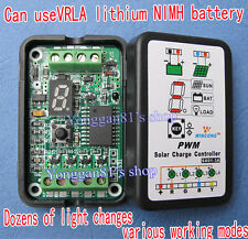 PWM Solar Panel Light Controller 3A 6V 12V Battery Charge Regulator Intelligent