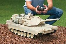 "RC Tank M1A2 Abrams USA Airsoft Tank Toy 16"" Military Battle Vechile w Sound NEW"